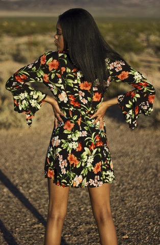 """Garden Goddess"" Long Sleeve Dress"