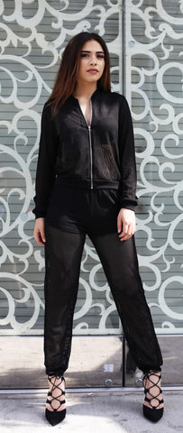 Black Stone Jumpsuit