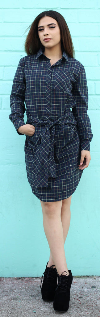 Jasper Plaid Dress