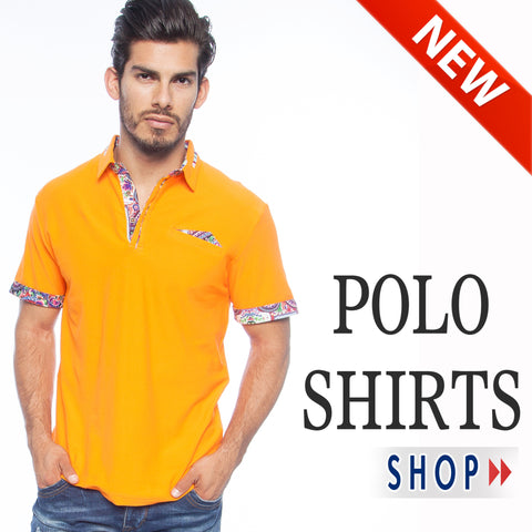 NEW MEN'S POLO SHIRTS BY AMERICAN BREED