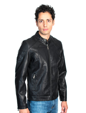 ABPF-26 BLACK PLEATHER JACKET 6PK