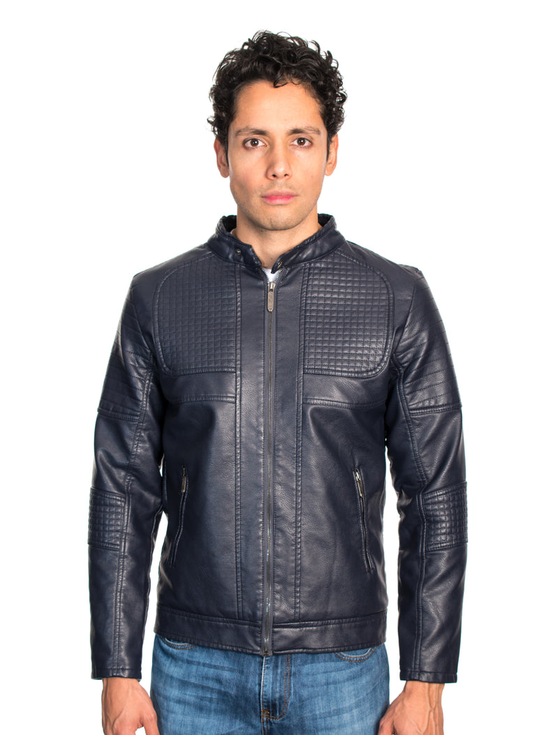 ABPF-36 NAVY PLEATHER JACKET 6PK