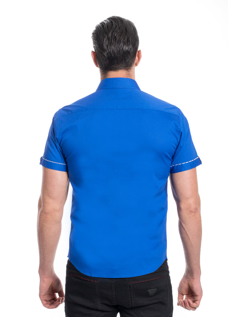 ABSK-2020-ROYAL  SOLID STRETCH SHIRT 6PK