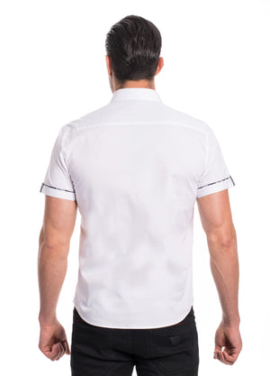 ABSK-2020-WHITE  SOLID STRETCH SHIRT 6PK