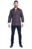 MEN'S BLACK ELEGANT FASHION SHIRT | HARD SODA DKL-13