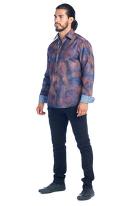 MEN'S MULTI-COLOR ELEGANT FASHION SHIRT | HARD SODA DKL-14