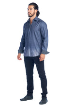 MEN'S GREY ELEGANT FASHION SHIRT | HARD SODA DKL-30