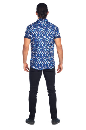 DKS-17-ROYAL OVAL PRINTED SHORT SLEEVE SHIRT 6PK