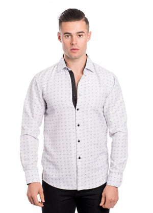 SS192-69L  PRINTED LONG SLEEVE SHIRT 6PK
