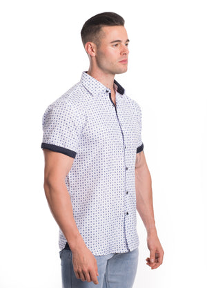 SS20-109S  MEN'S SHORT SLEEVE SHIRT 6PK