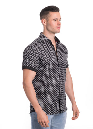 SS20-123S  MEN'S SHORT SLEEVE SHIRT 6PK