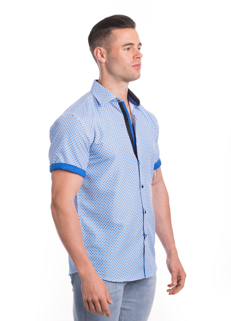 SS20-84S  MEN'S SHORT SLEEVE SHIRT 6PK