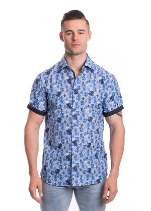 SS20-99S  MEN'S SHORT SLEEVE SHIRT 6PK