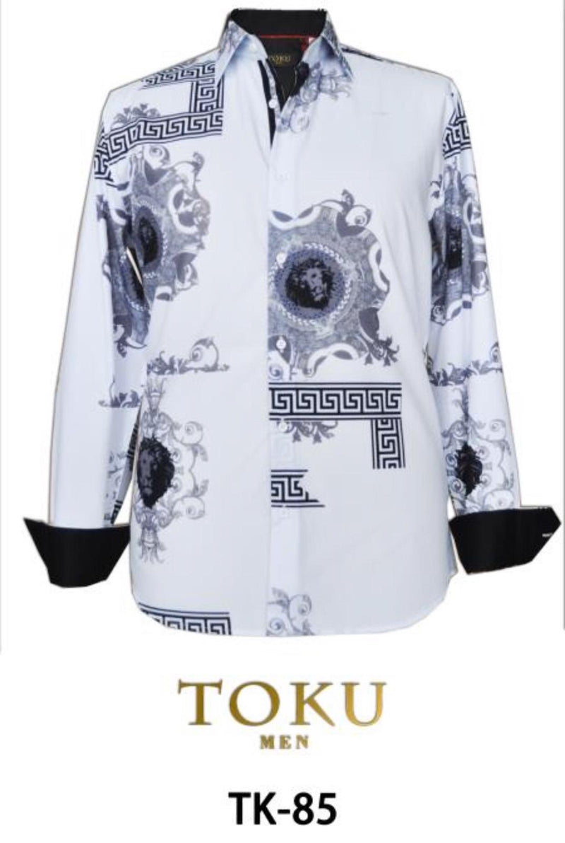 TK-85  WHITE PROMOTION $10.50 PRINTED SHIRT 12PK