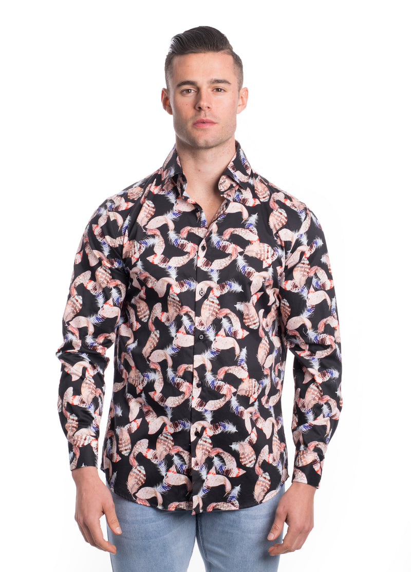 VDP19-004L  MEN'S PRINTED SHIRT 6PK