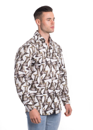 VDP19-005L  MEN'S PRINTED SHIRT 6PK