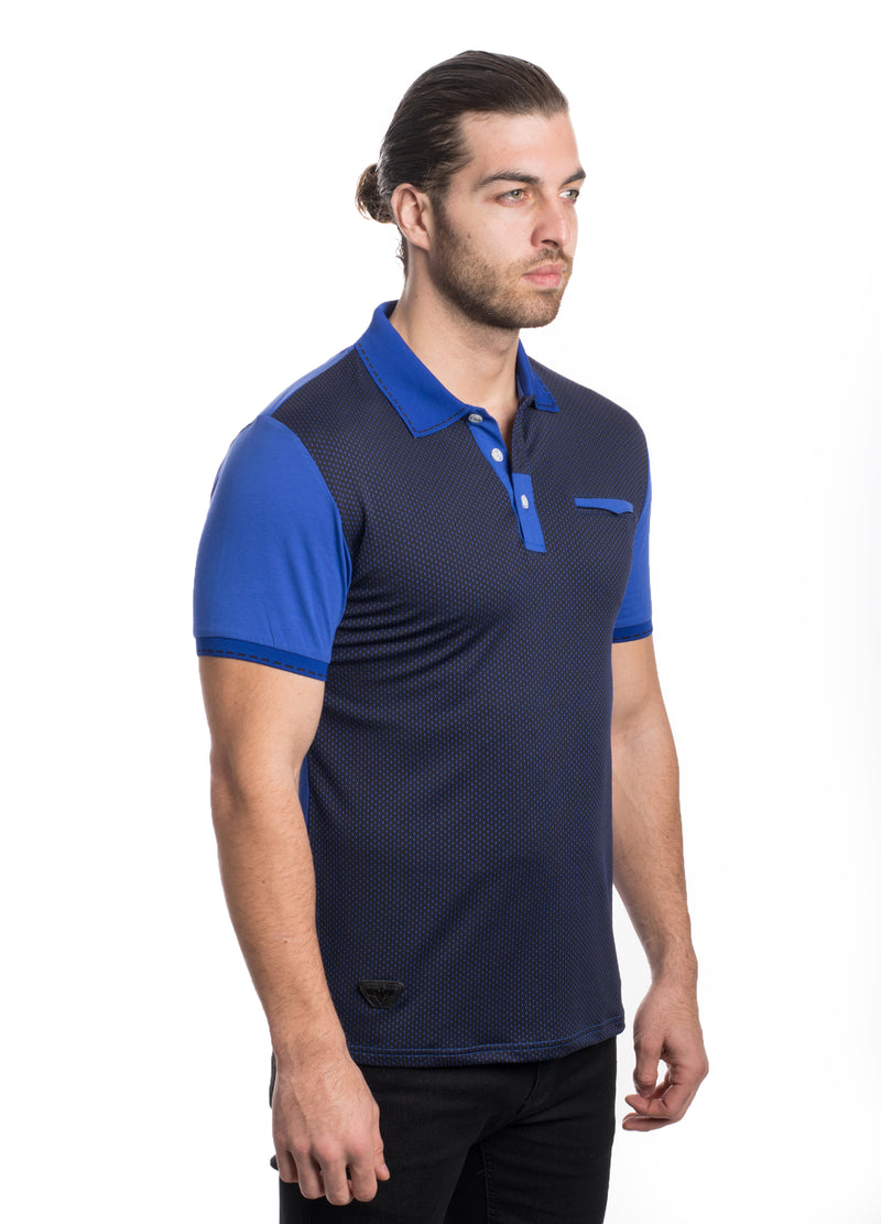 VSP2022-ROYAL-SOLID MESH POLO 6PK