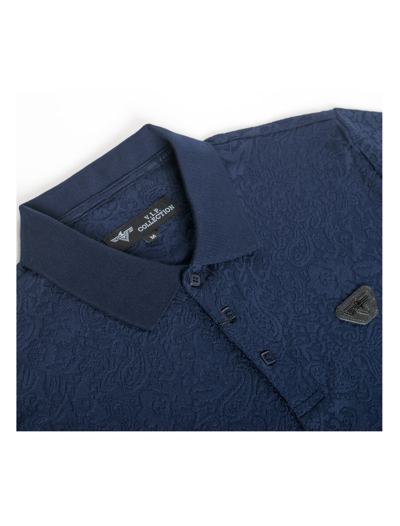VSP-2026-NAVY SOLID POLO 6PK