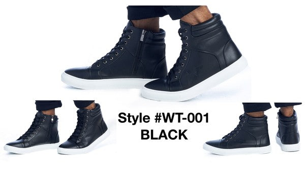 WT-001 BLACK COMFORTABLE SNEAKERS 12 PAIRS