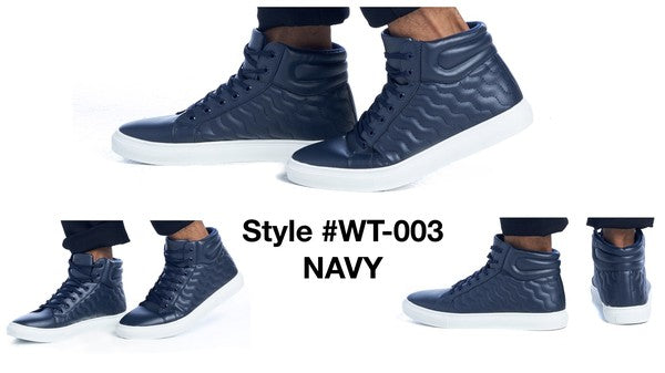 WT-003 NAVY COMFORTABLE SNEAKERS  12 PAIRS