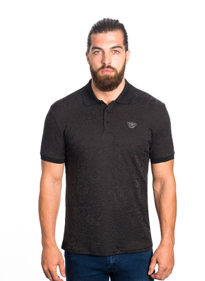 VSP-2026-BLACK SOLID POLO 6PK