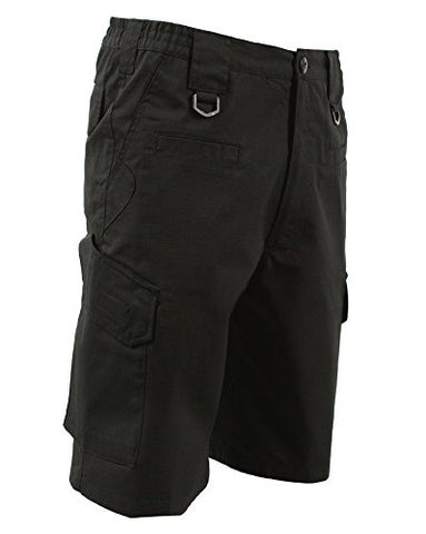LA Police Gear Operator Tactical Shorts W/ Elastic Waistband