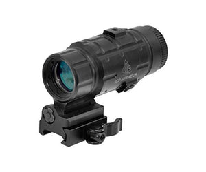 UTG 3X Magnifier W/ Flip-to-side QD Mount + W/E Adjustable
