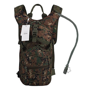 Hydration Backpack with 3L Water Bladder