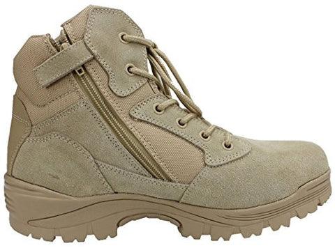 Ryno Gear Tactical Boots W/ CoolMax Lining (Beige)