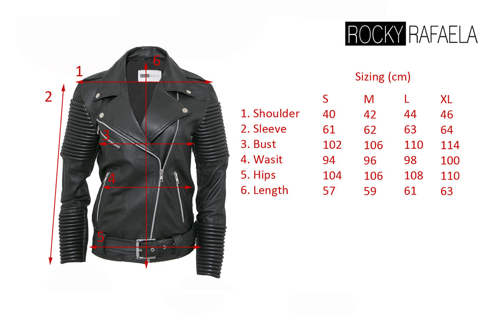 The Rafaela Biker RED