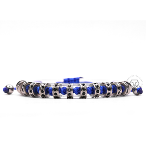 White Gold Multistoppers - Blue Rope