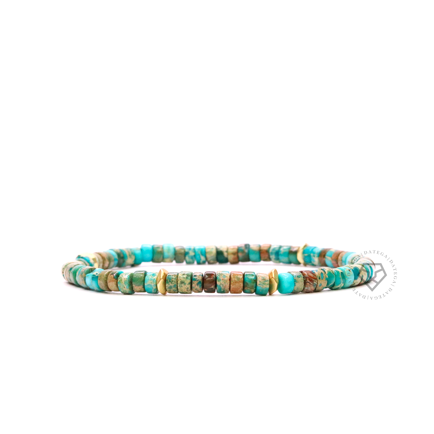 Holbox Bali Turquoise & Gold Stoppers