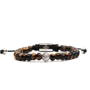 EXXE Sphere White Gold, Black Harbor & Tiger Eye Rotam