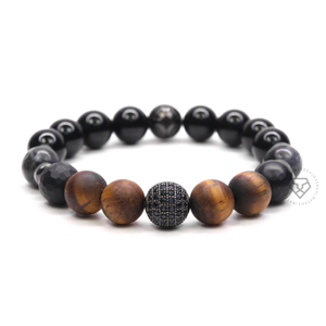 Tiger Eye, Agate Faceted & Onyx