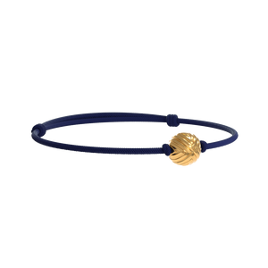 Solo EXXE Yellow Gold - Navy Blue Rope
