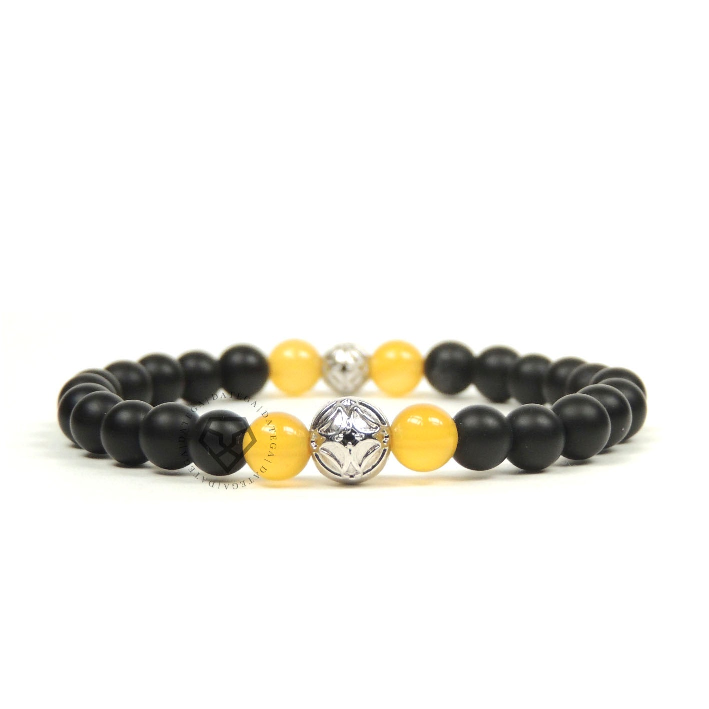Yellow Agate & Onyx