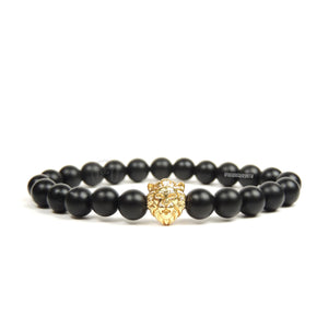 Lion Goldfilled & Onyx