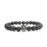 Lion Ruthenium & Lava Stone