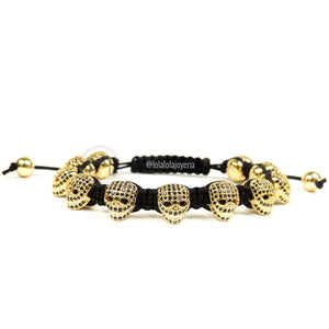 Yellow Gold Luxury Skulls