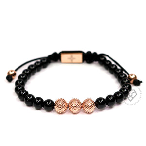 EXXE Sphere Rose Gold & Onyx