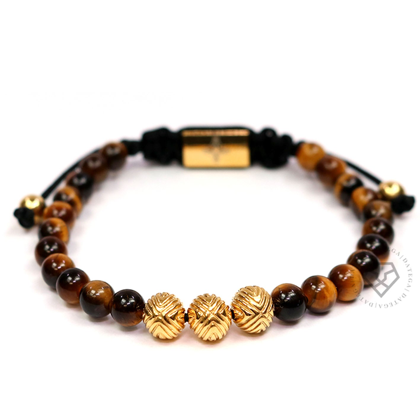 EXXE Sphere Yellow Gold & Tiger Eye