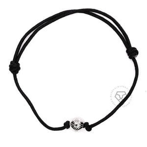 Insignia White Gold - Black Rope
