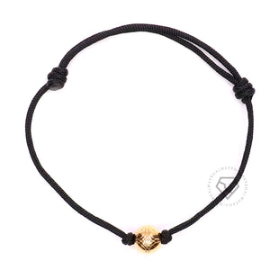 Insignia Yellow Gold - Black Rope