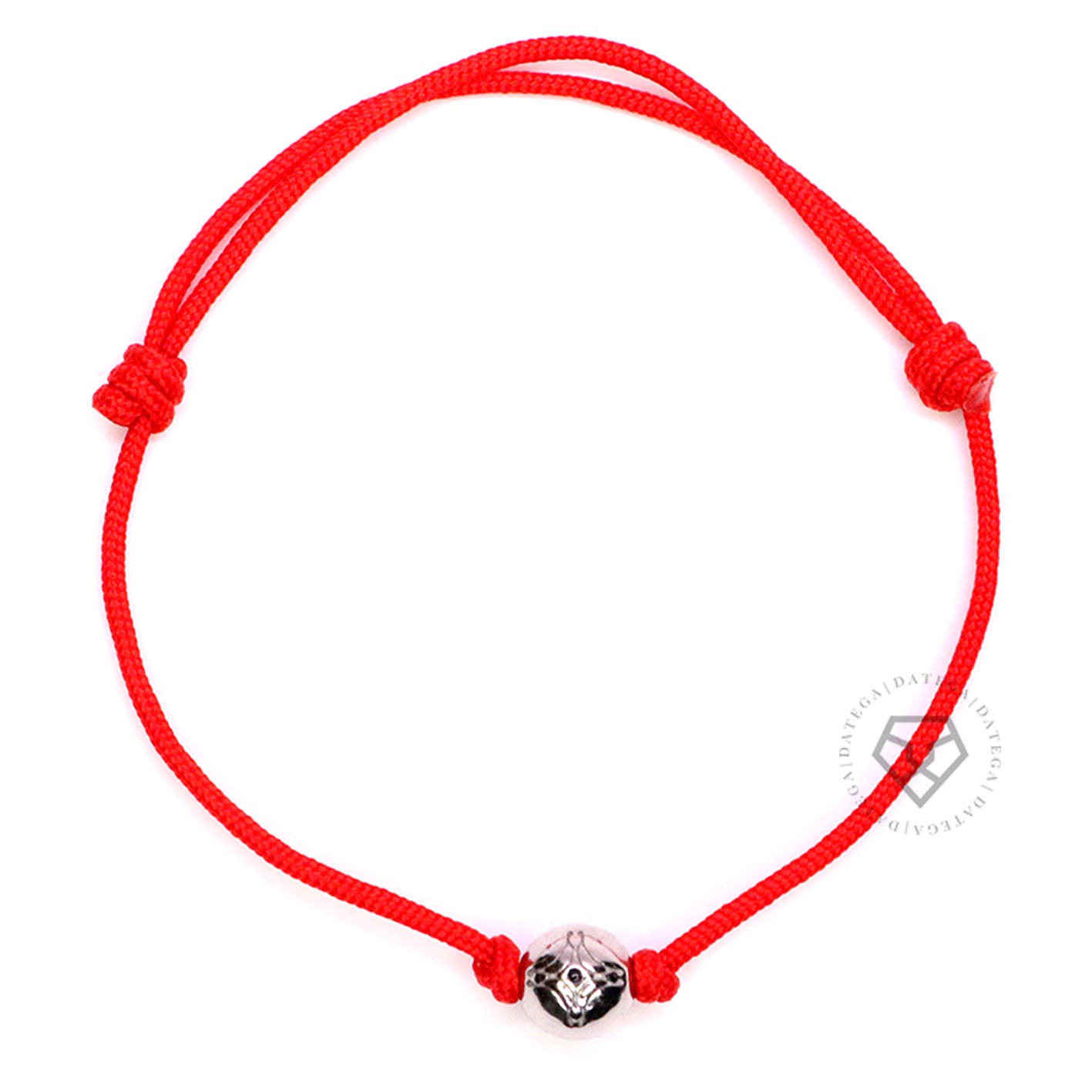 Insignia White Gold - Red Rope
