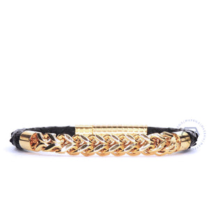 Chain Yellow Gold Black Python