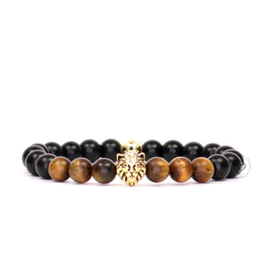 Lion, Onyx & Tiger Eye