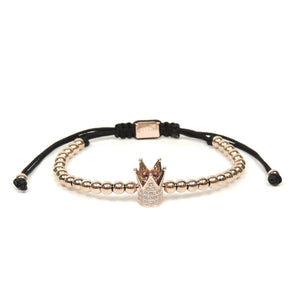 Rose Gold CZ Crown