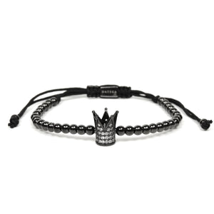 Rhodium CZ Crown