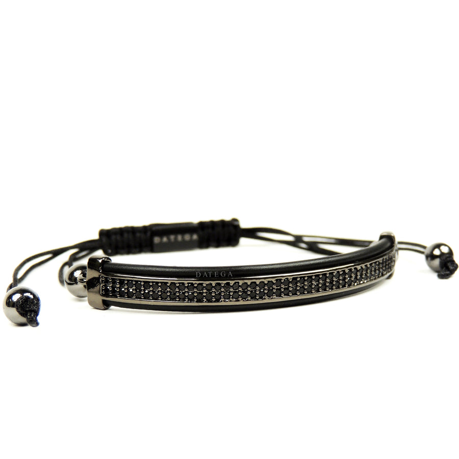 Rhodium Black Cz High End Bracelet