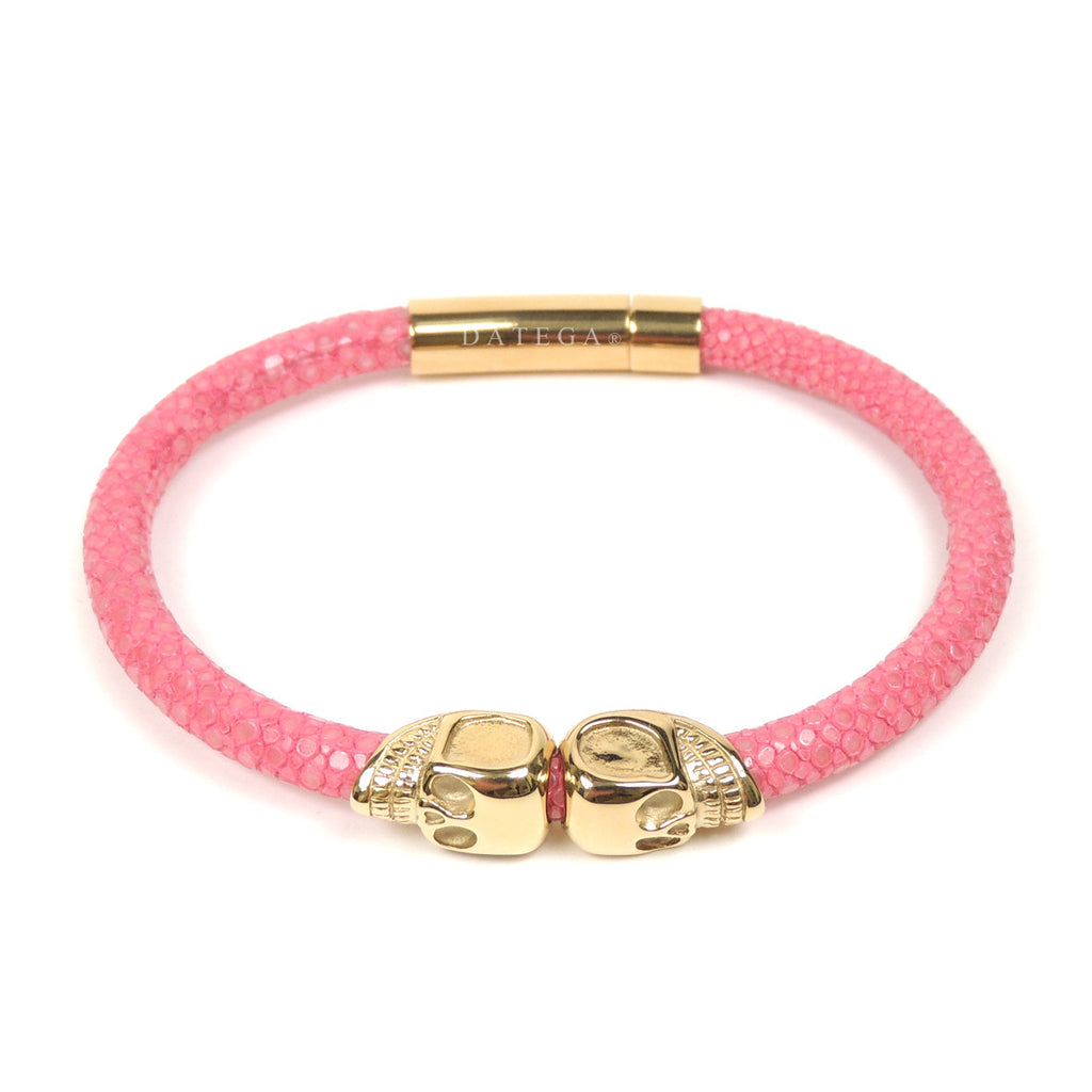 Twinskull Yellow Gold Pink Stingray